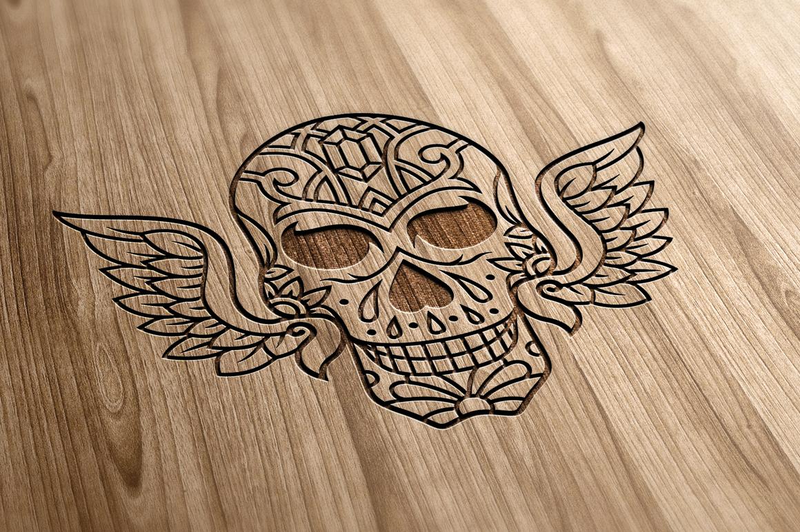 50 Vector Sugar Skulls example image 10