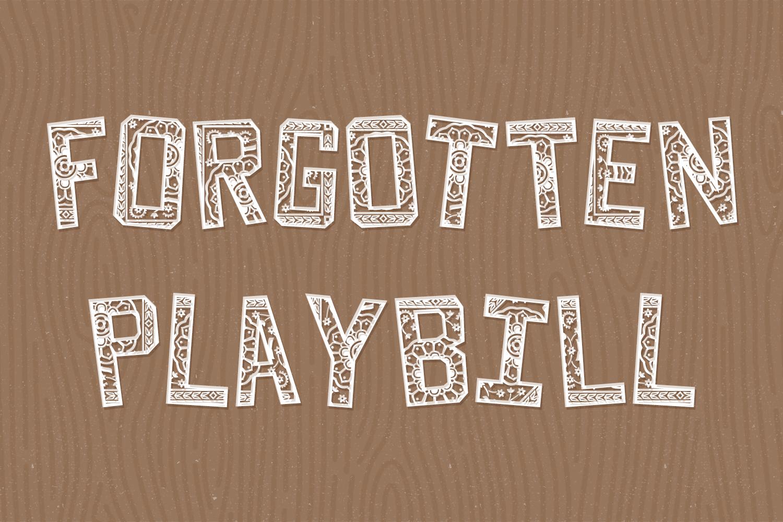 Forgotten Playbill example image 2