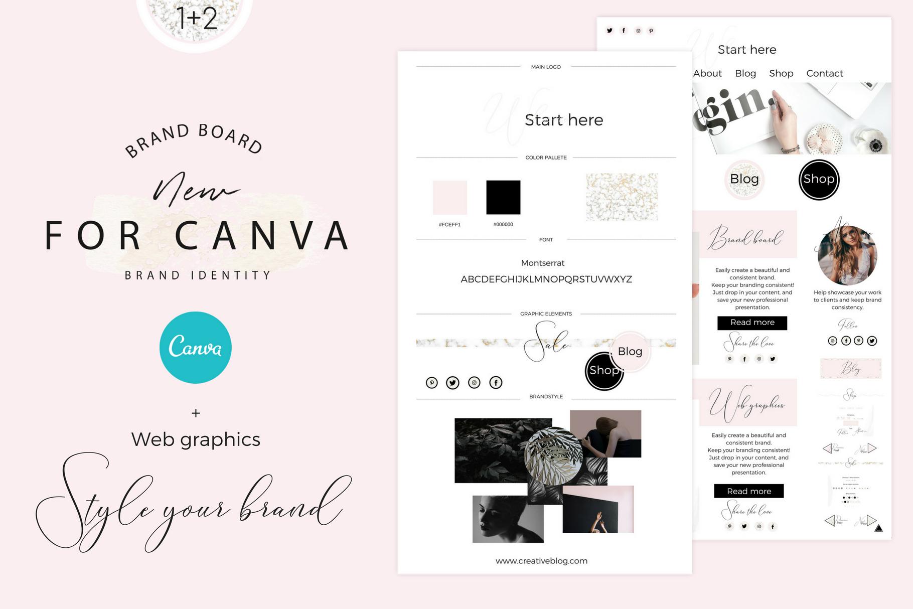 Brandboards + Web graphics example image 1