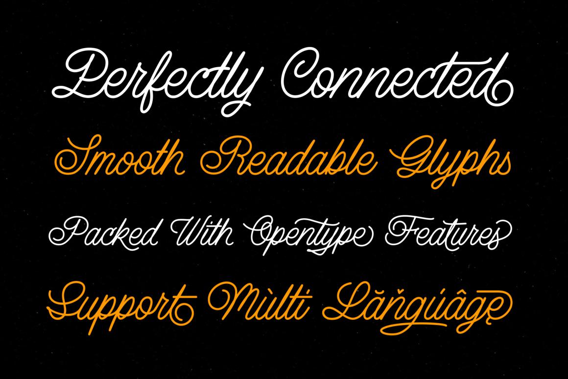 Lazy Ride  - Script & Sans example image 3