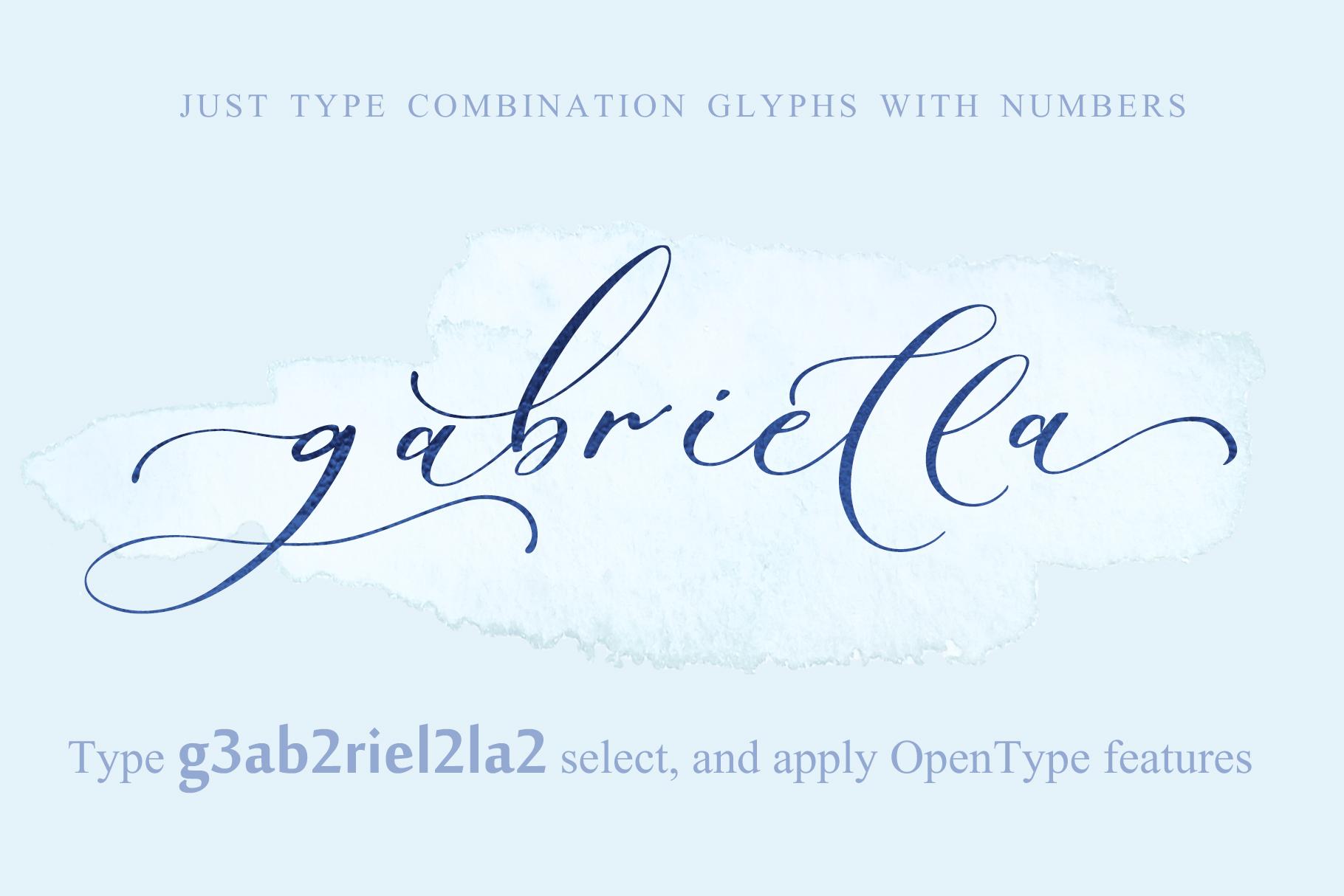 Sadlyne calligraphic font & extras example image 18