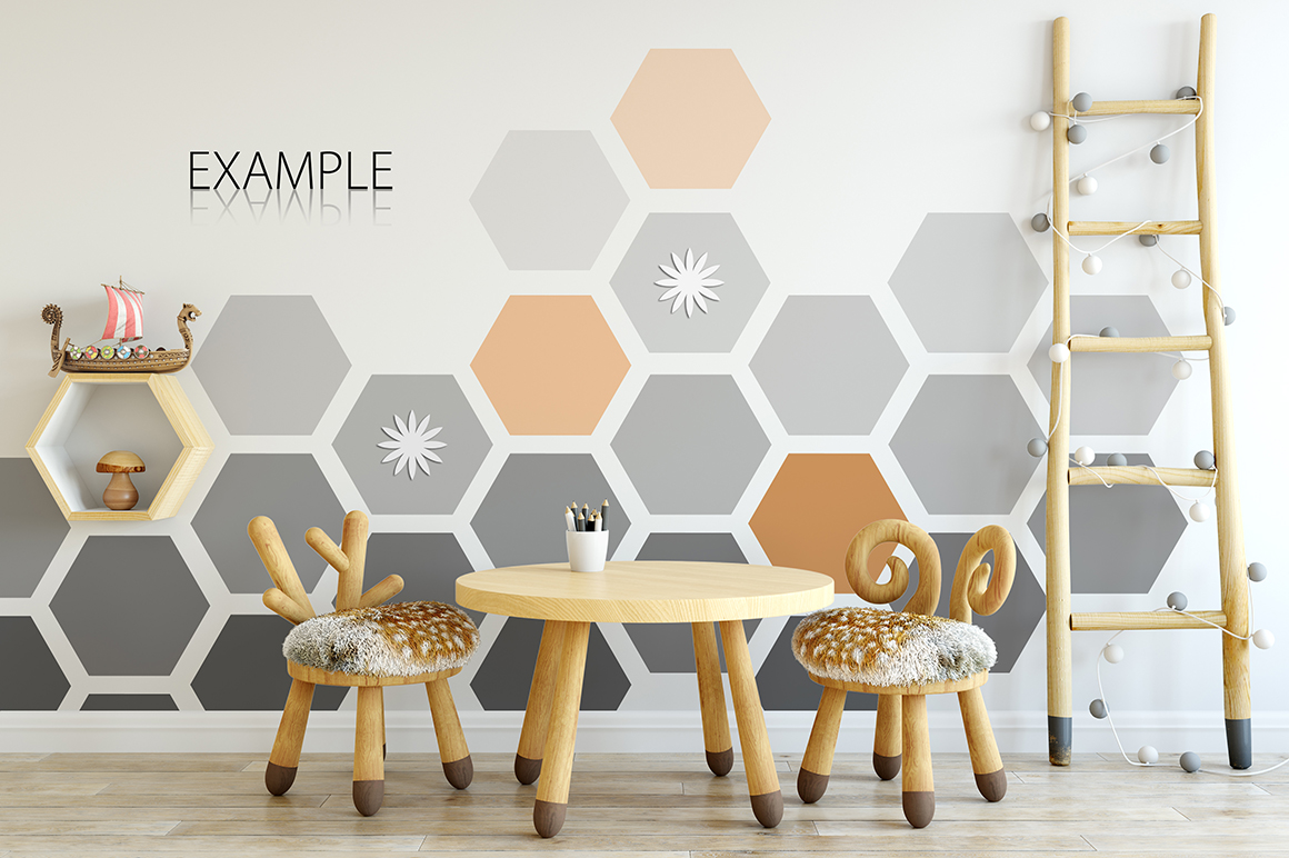 KIDS WALL & FRAMES Mockup Bundle - 2 example image 24