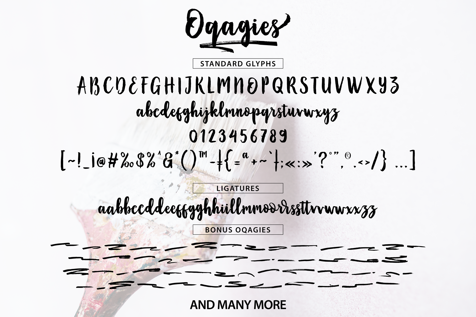 Oqagies Brush + Bonus example image 8