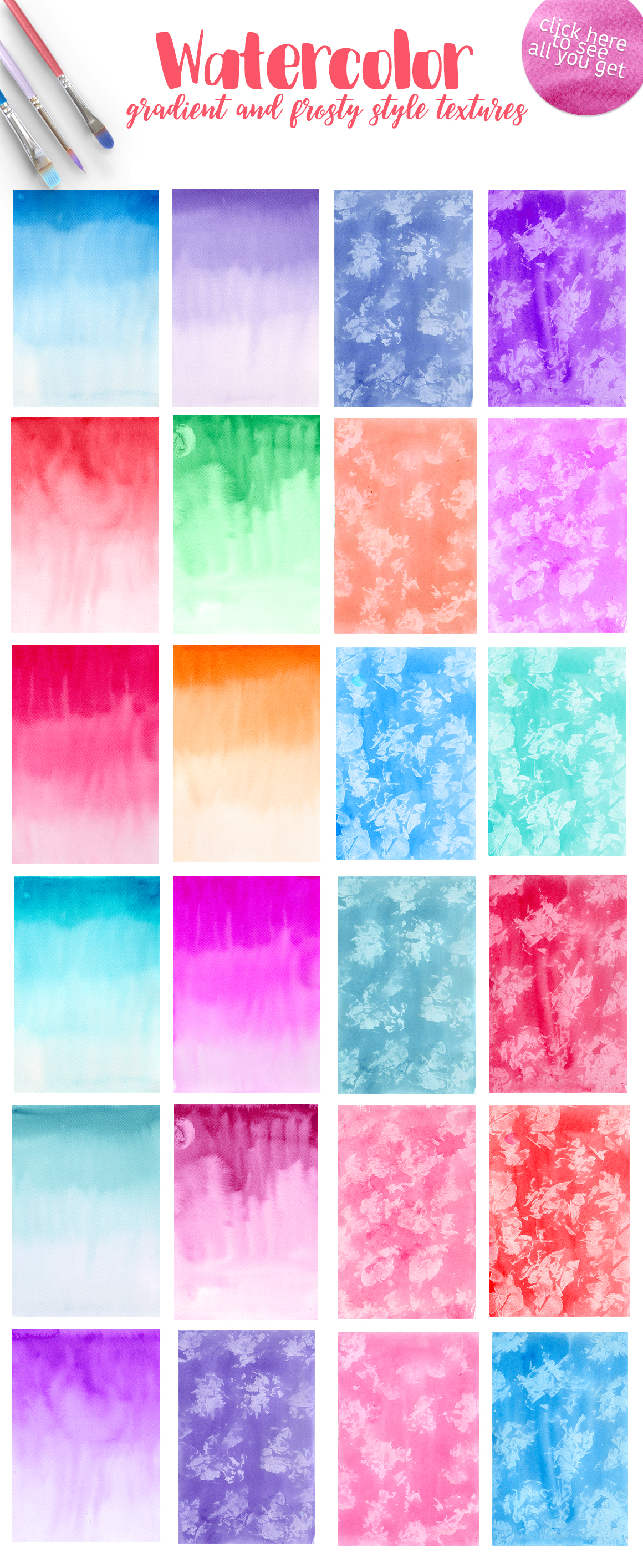 365 Watercolor Dream Textures example image 8