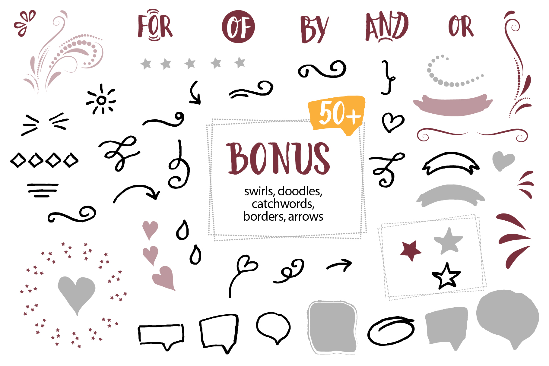 Woopie: a hand-lettered font example image 6