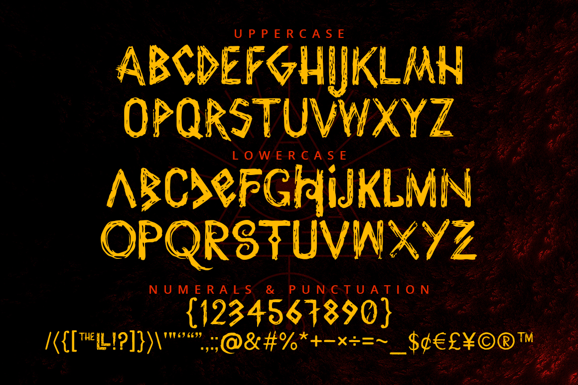 Wrathobia Display Font example image 5