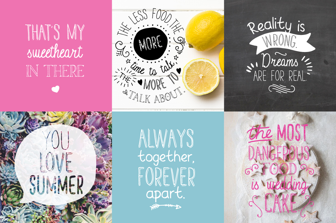 Handwritten Font Collection example image 5
