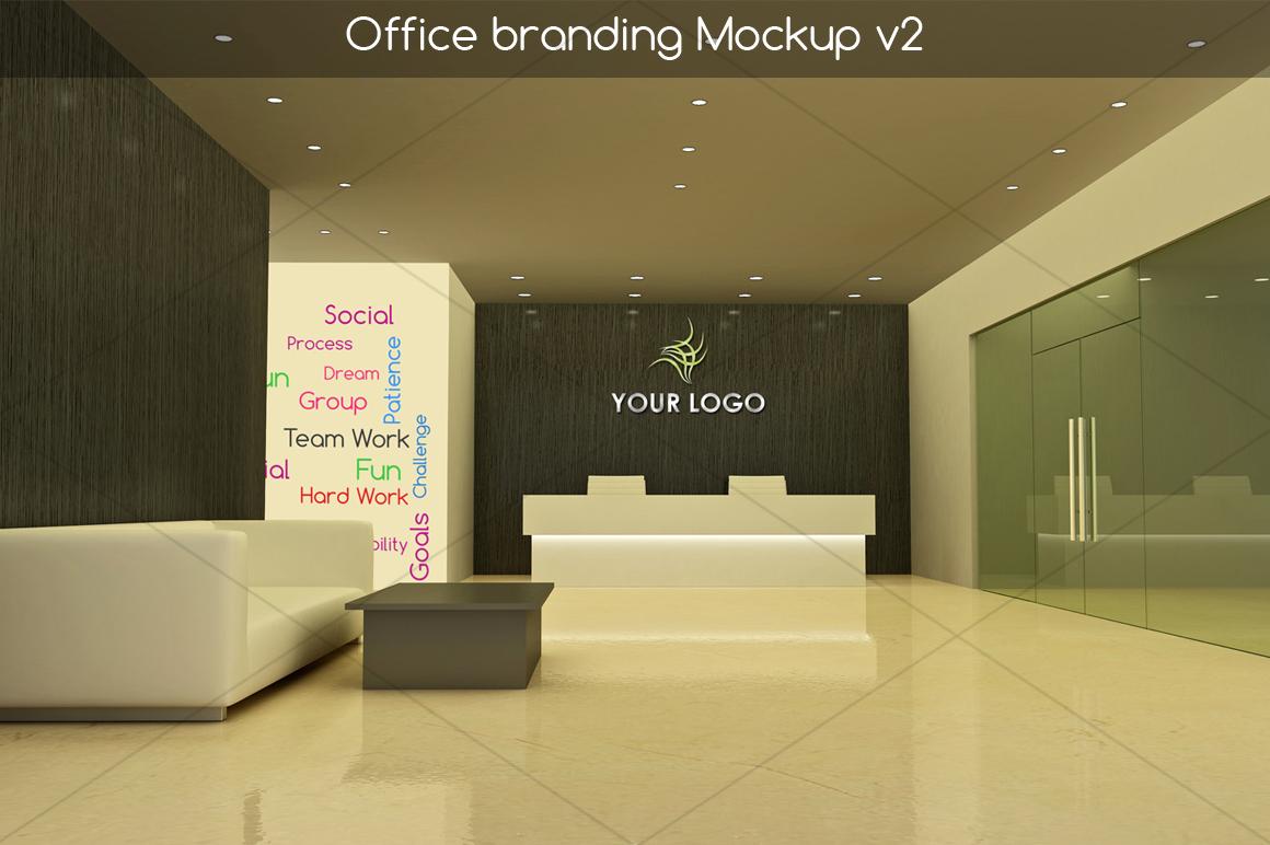 Office branding Mockup v2 example image 1