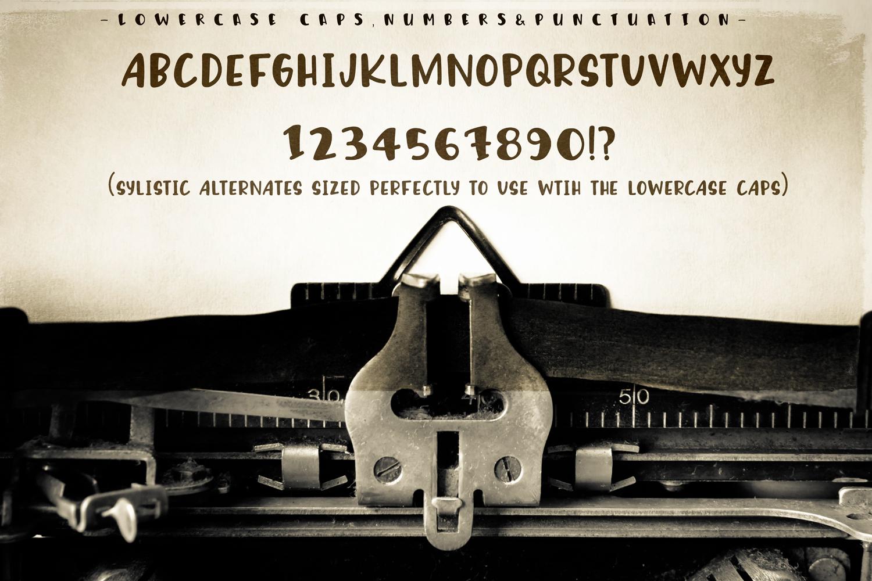 Humphrey Handwritten Font example image 5