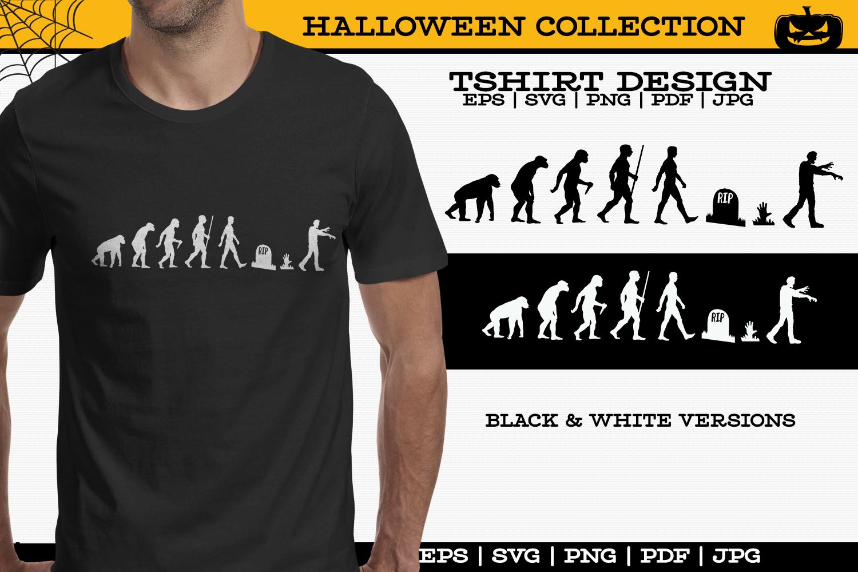 Zombie Tshirt example image 1