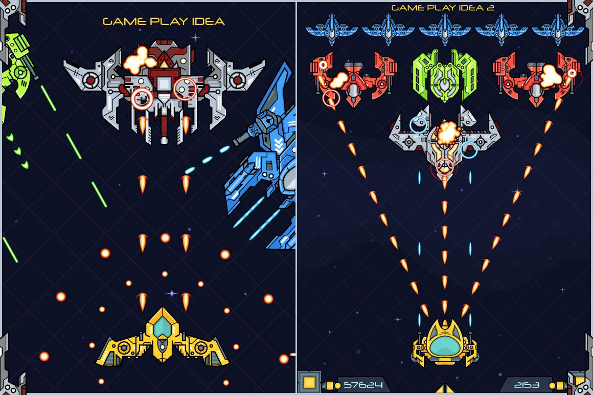 Spaceship Creation Kit - Game Assets example image 5