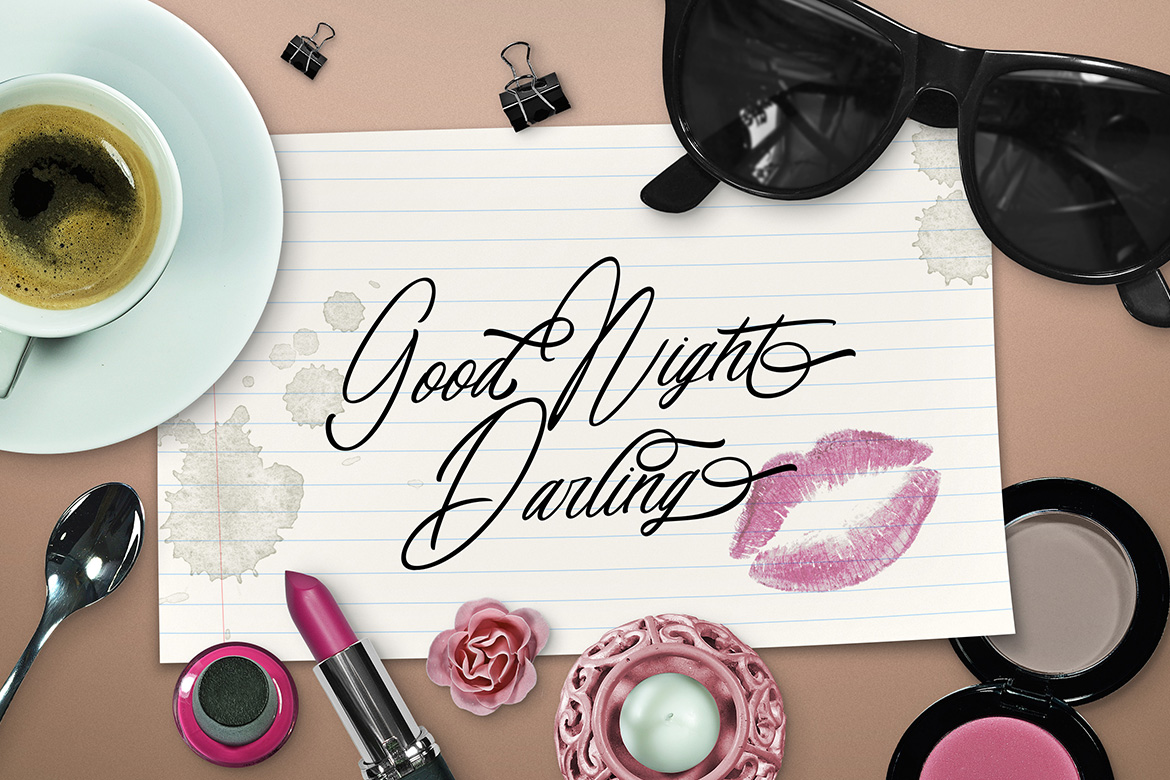 Bright Visions Typeface example image 5
