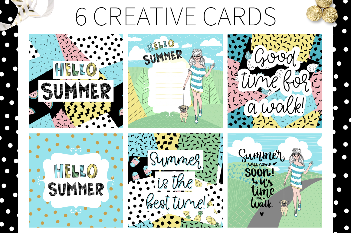 Hello Summer - Doodle Collection example image 3