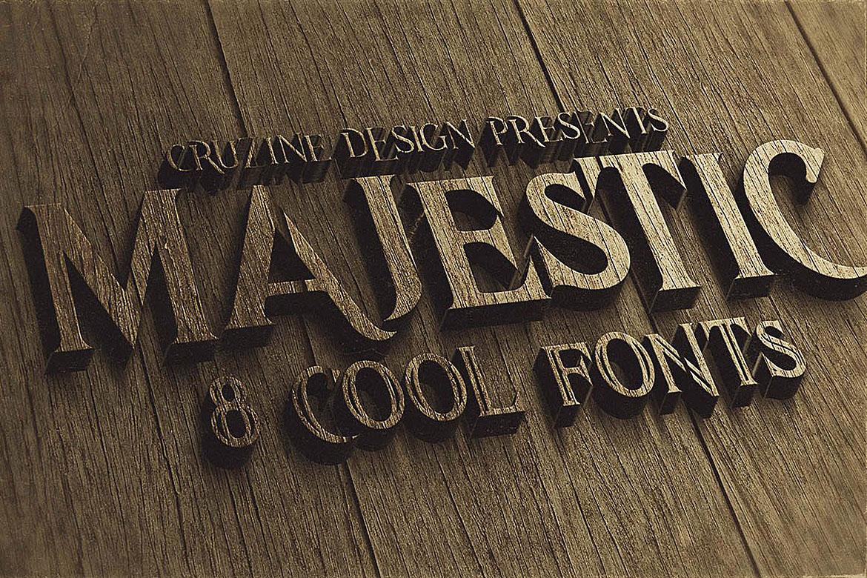 Majestic Typeface example image 5