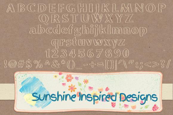 Font No.13, No.14 and No.15 example image 2