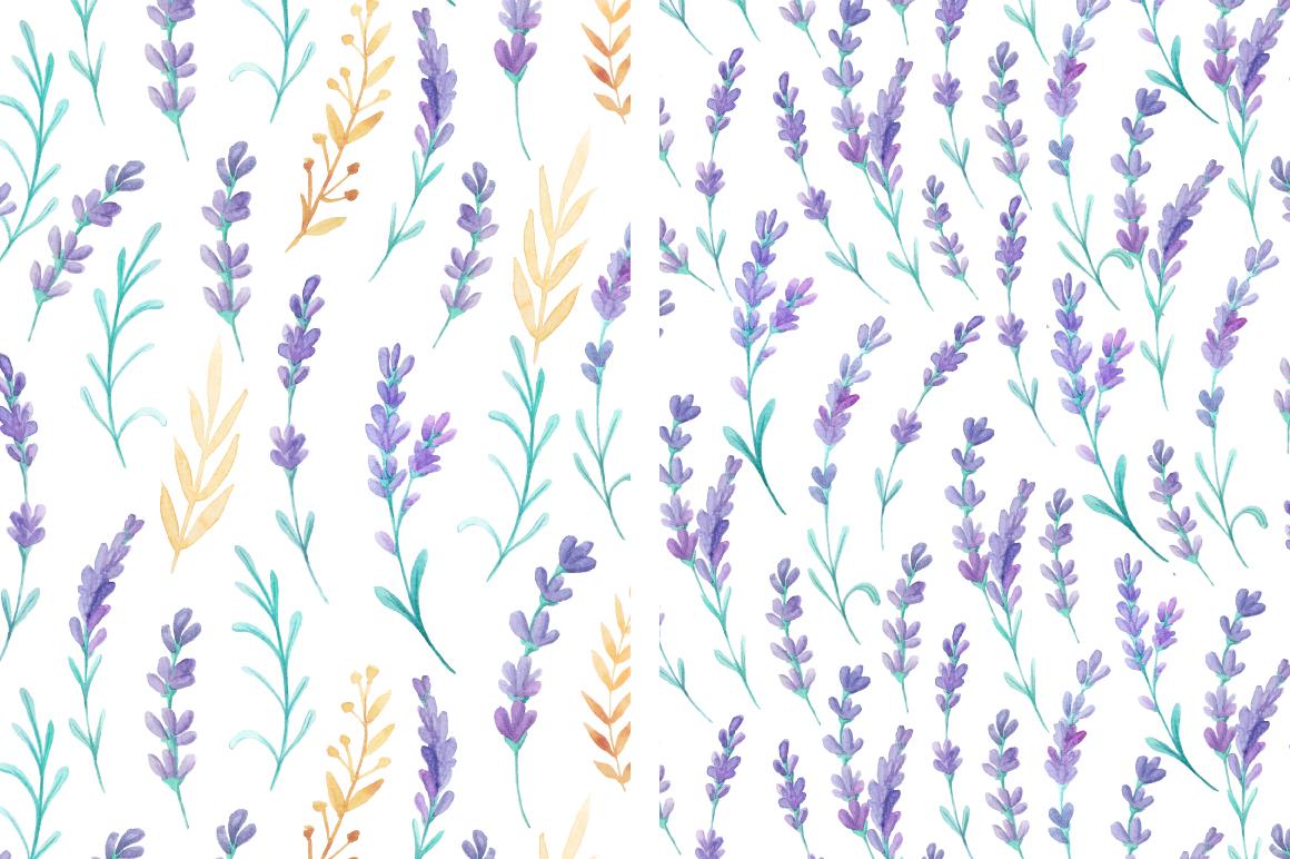 Lavender Wedding Card Set example image 4