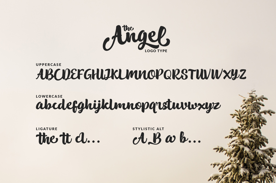The Angel (Logotype) example image 7