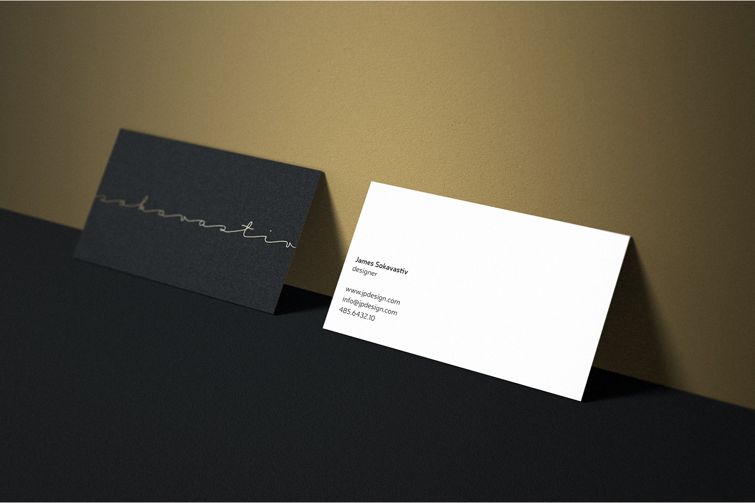 Gold business card bc098 by coolediti design bundles gold business card bc098 example image 2 colourmoves
