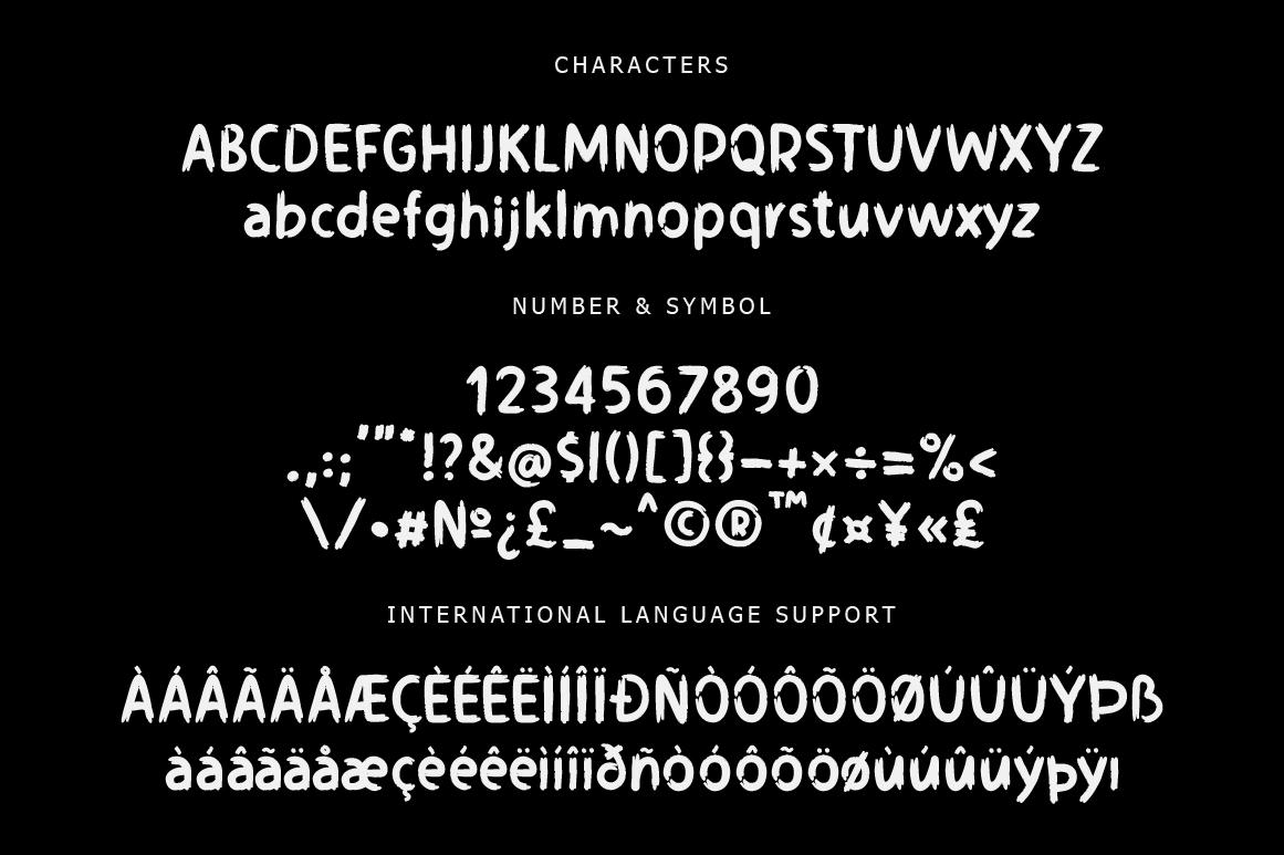 Disquise Brush Typeface example image 6