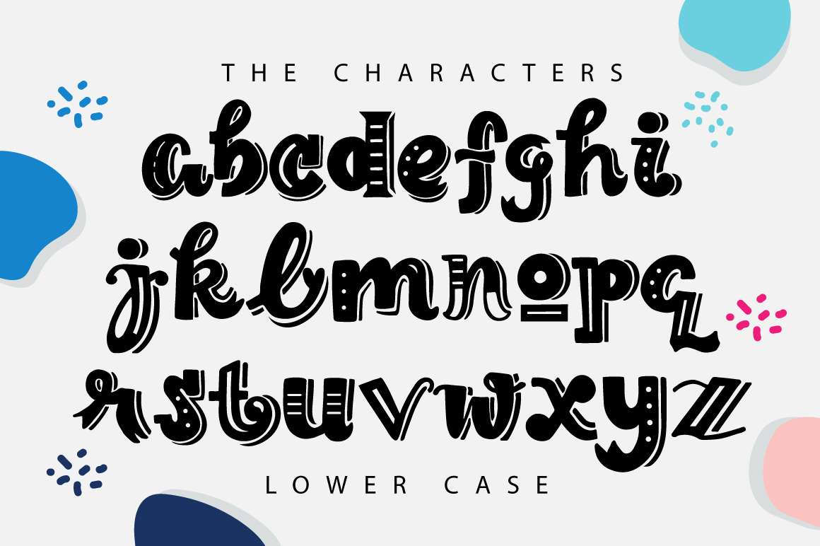 The Lettering Font example image 3