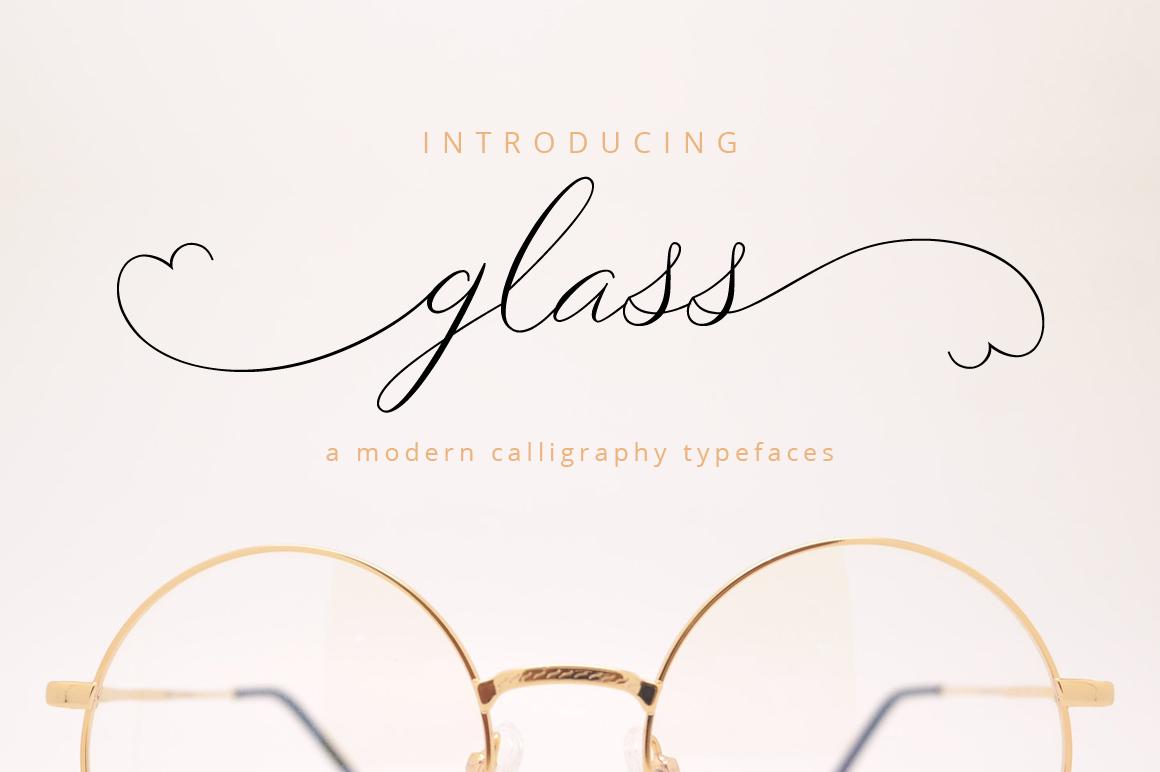 Glass Script example image 1