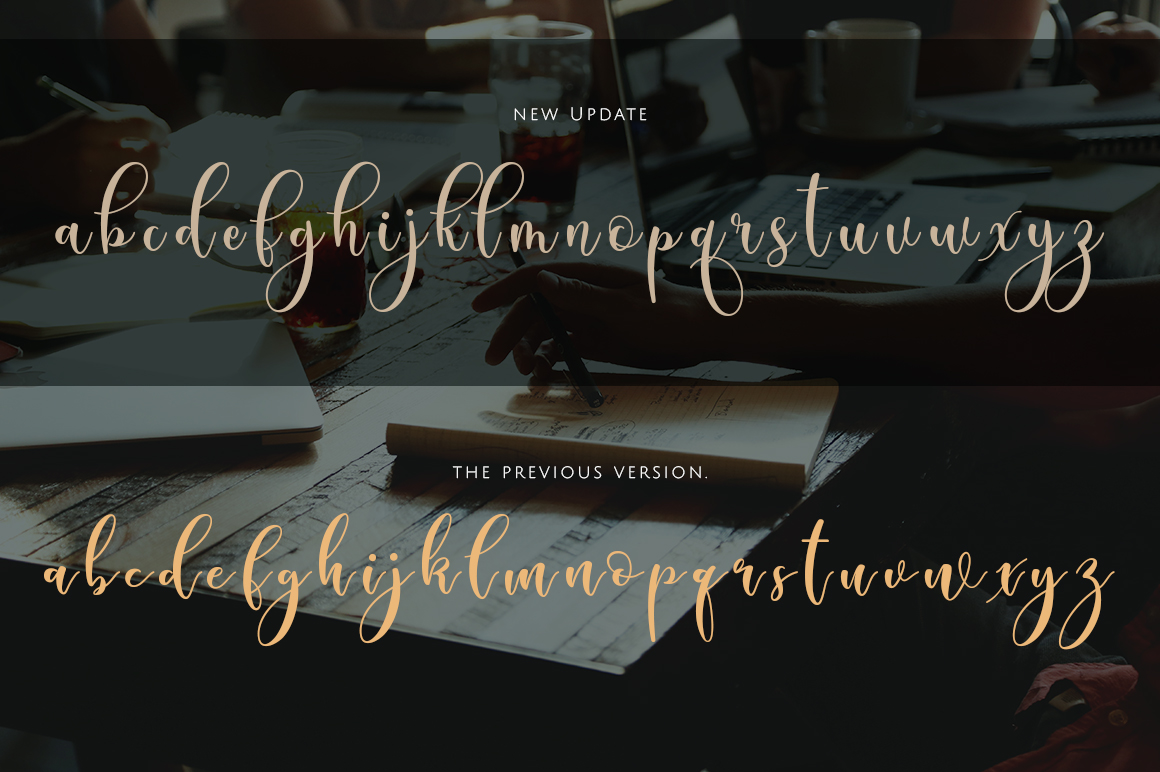 Sleeplesson Modern Script example image 11