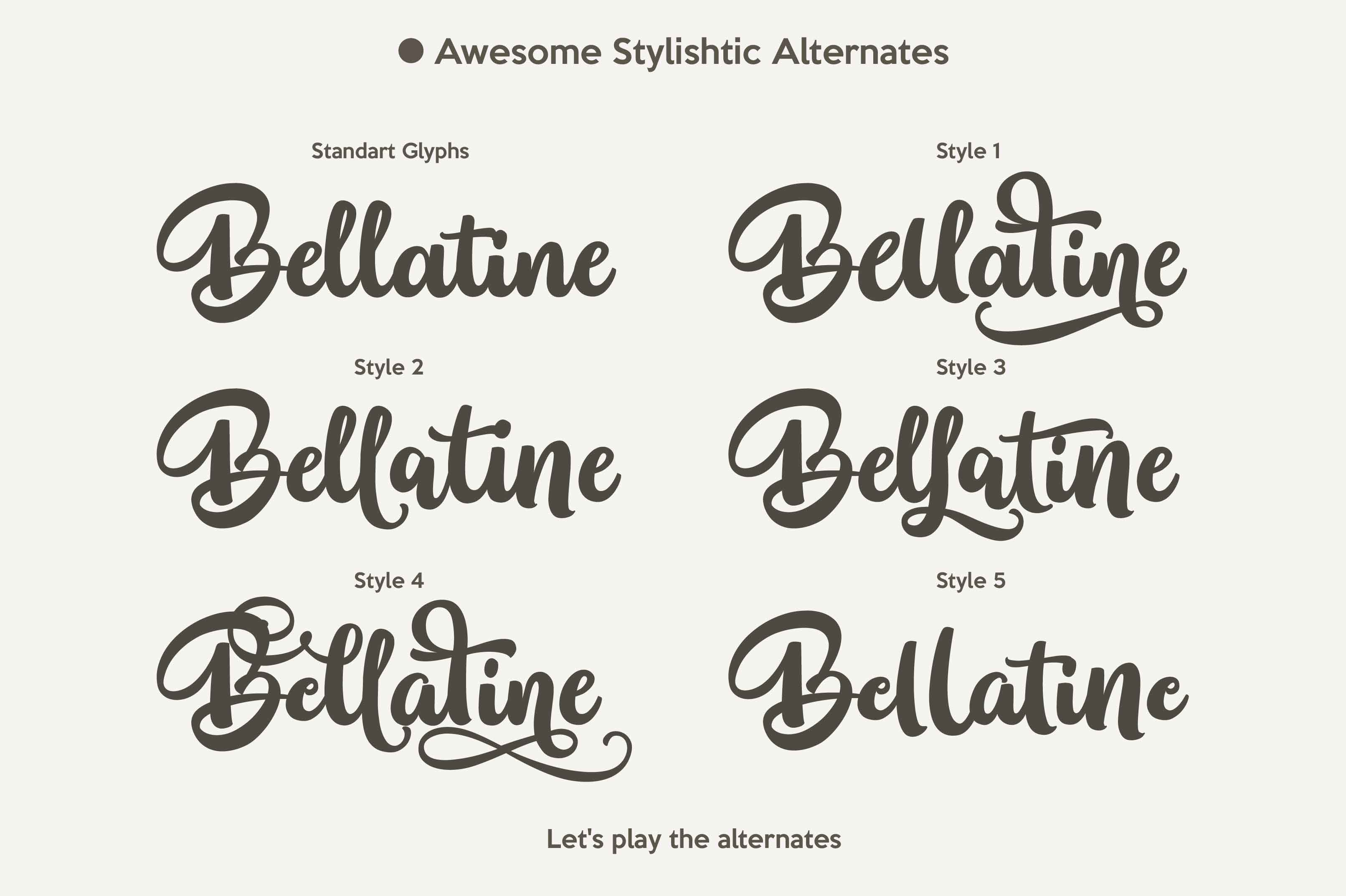 BELLATINE PRO example image 3