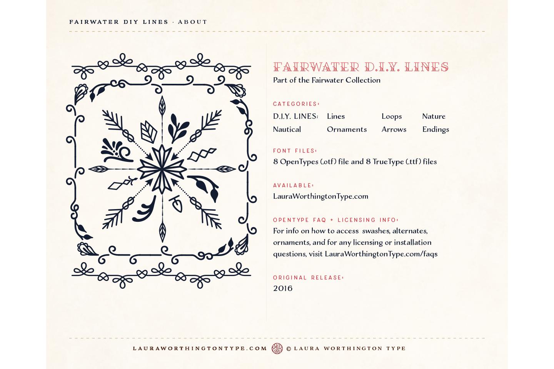 Fairwater DIY Lines example image 5
