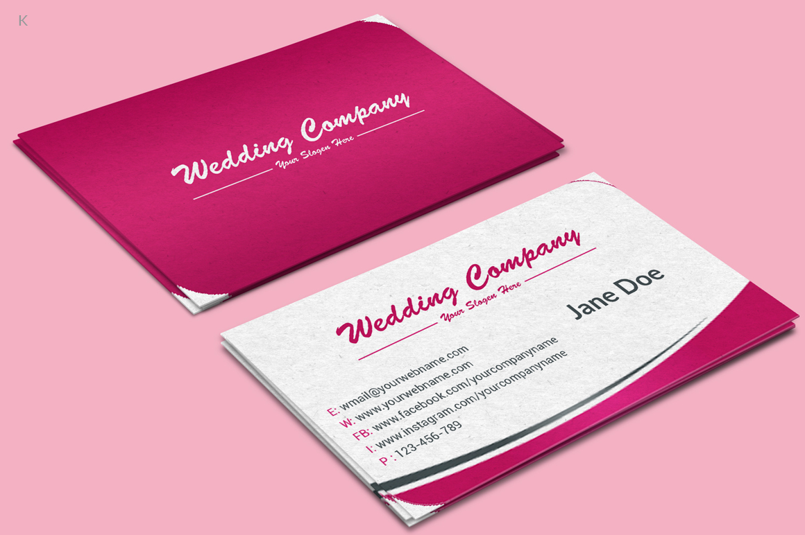 Wedding business cards akbaeenw wedding business cards colourmoves