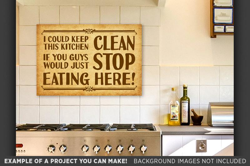 Country Kitchen SVG - Farmhouse Kitchen | Design Bundles