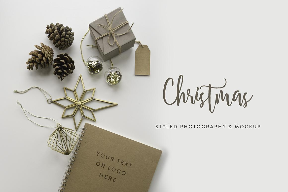 Christmas Styled Photo&Mockup #01 example image 9