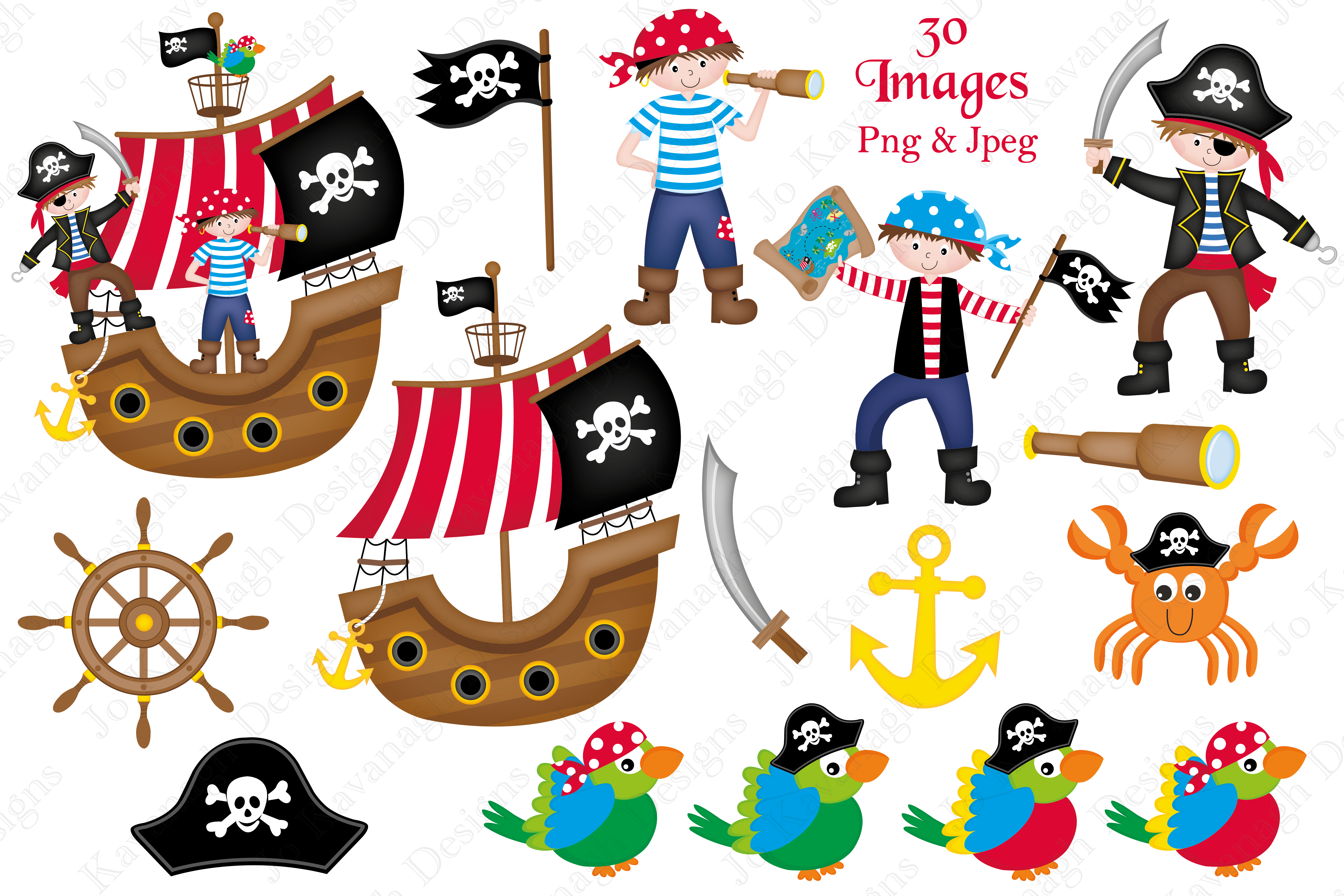 pirate clipart pirate graphics illus design bundles rh designbundles net pirate clipart no background pirate clipart no background