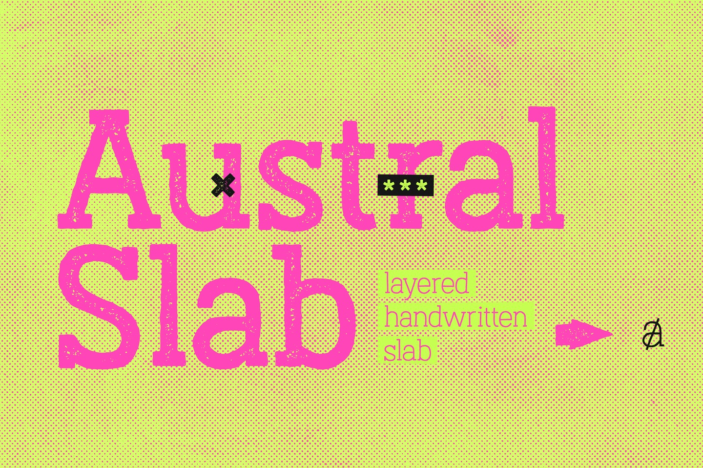 Austral Slab Stamp example image 2