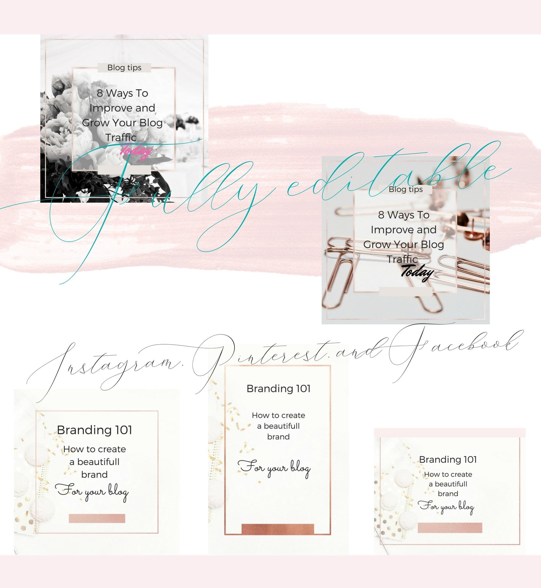 CFY - Sweet pink Social media example image 4