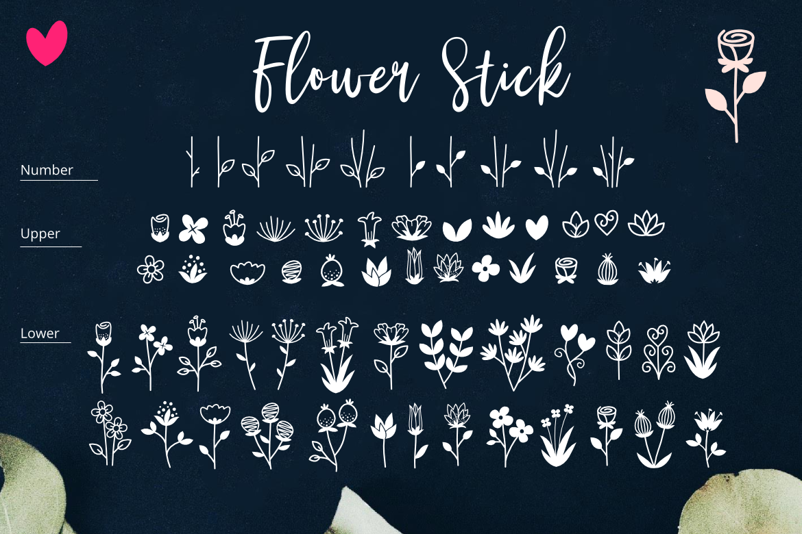Bambi Font + New Extras ! example image 5