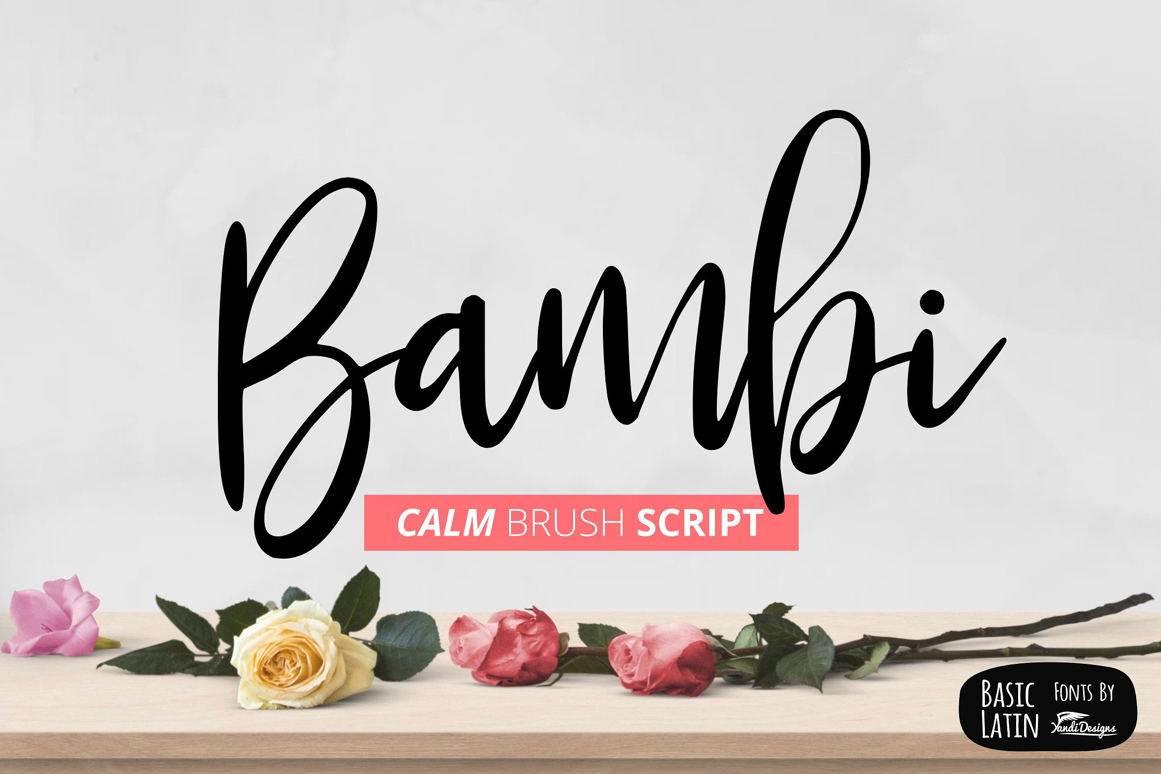 Bambi Font + New Extras ! example image 8