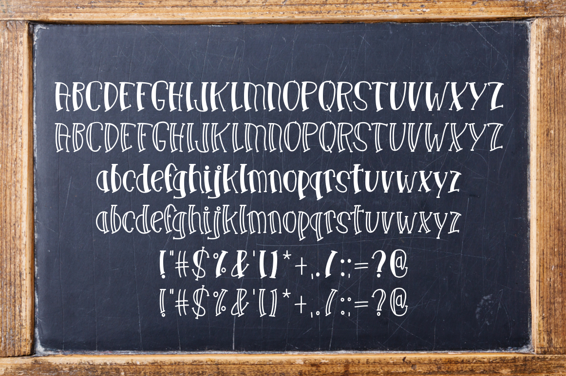 School Haze a Back-to-School Font example image 2