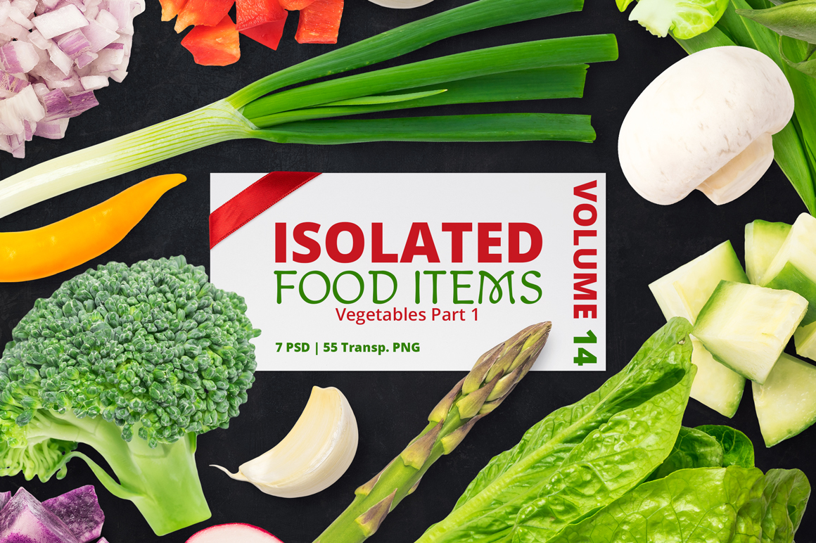 Isolated Food Items Vol.14 example image 1