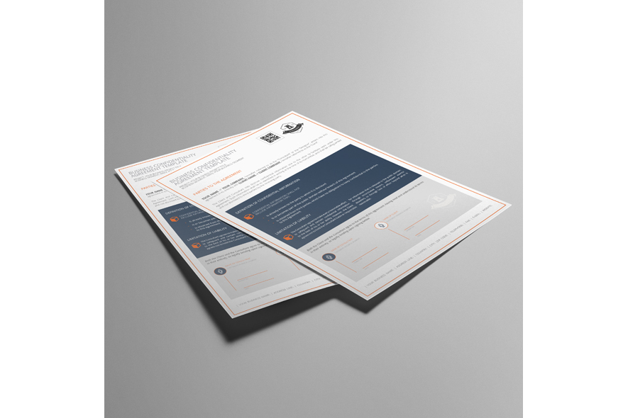 Business Confidentiality Agreement Template example image 2