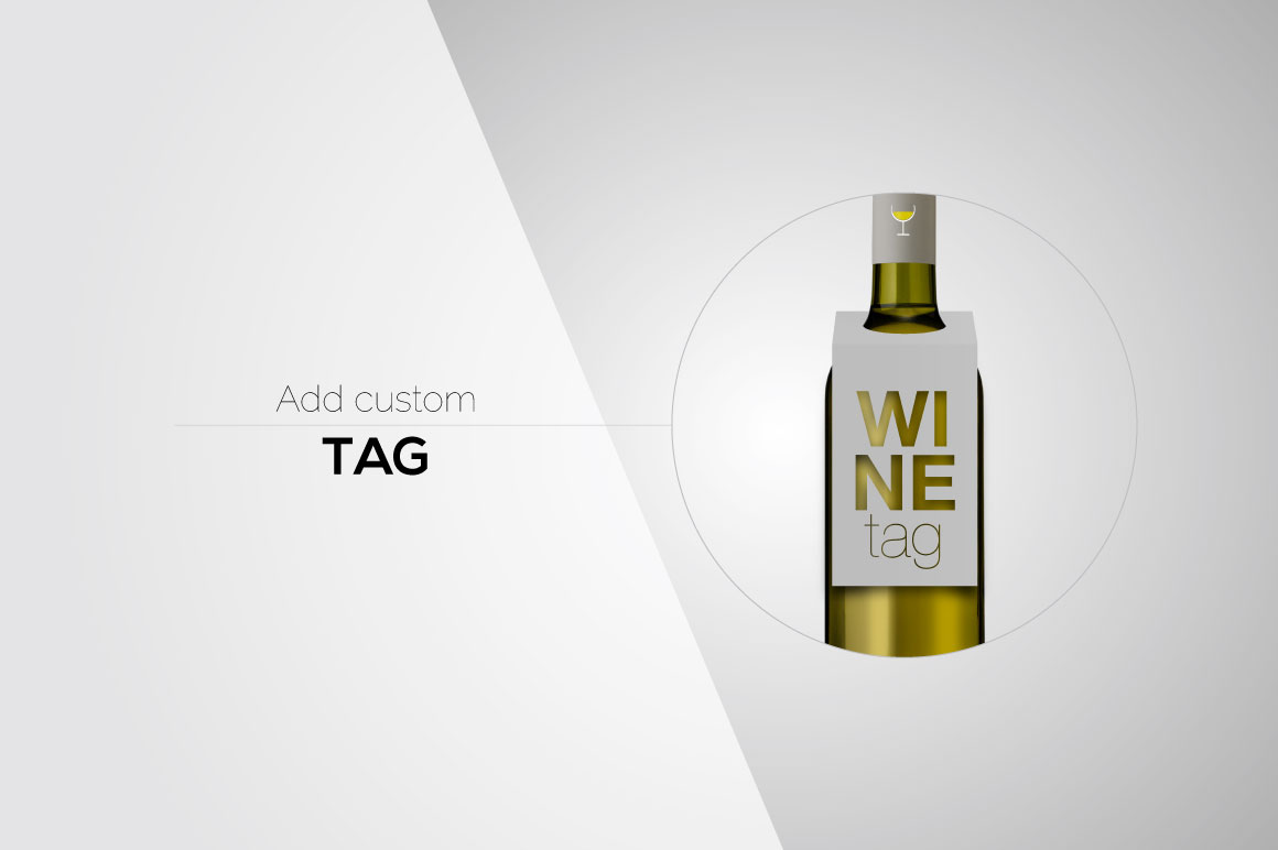 All-In-One Wine Bottle Mockup example image 11