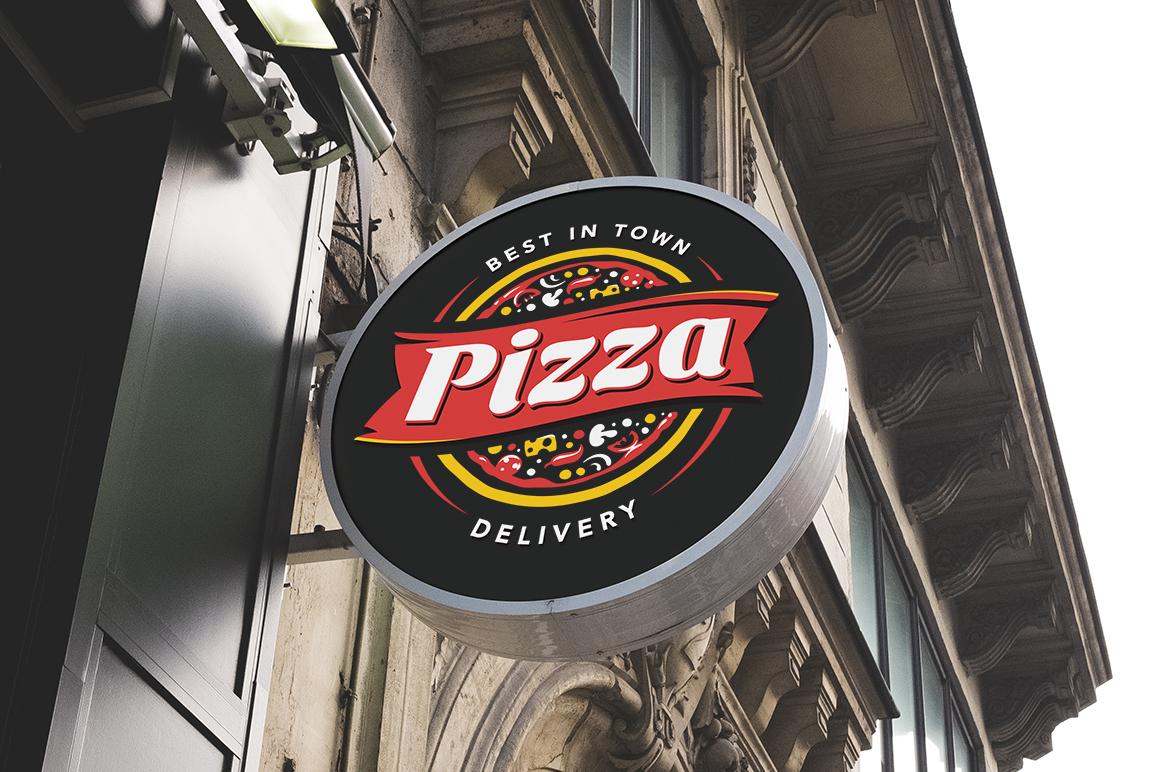 Pizza Logo Templates example image 8