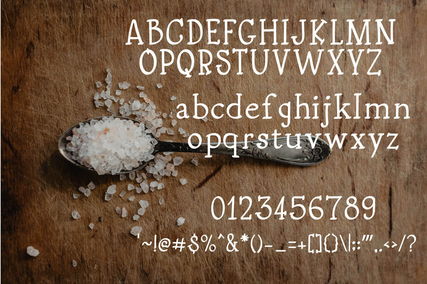 Pink Salt A Not So Sweet Font example image 2