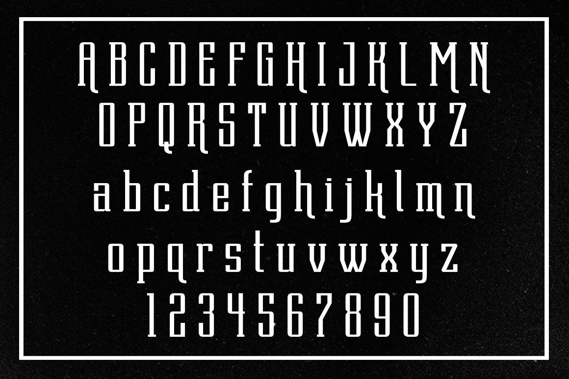 Dentra Typeface example image 5