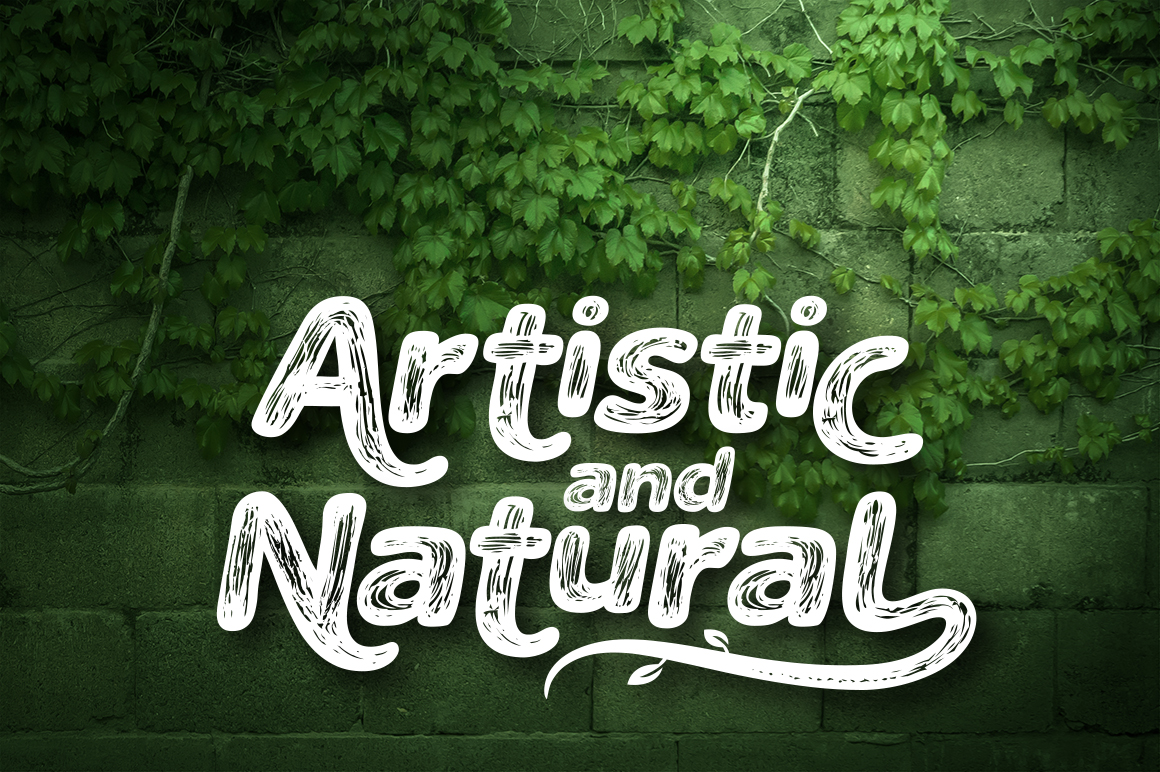 The Naturel Font example image 5