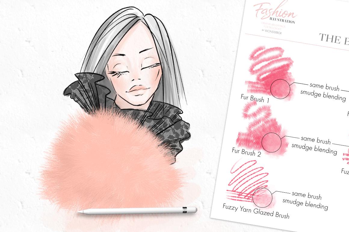 Fashion Illustration Brushes for Procreate example image 4