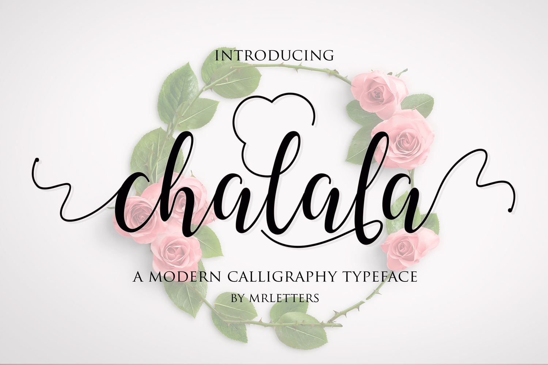 Chalala Script example image 9
