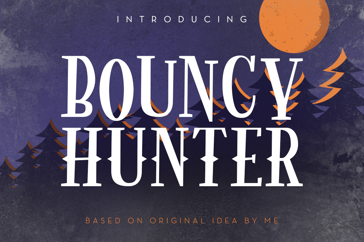 Bouncy Hunter example image 1