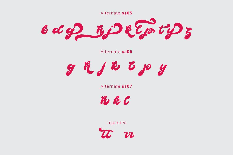 Boldie Script Typeface example image 5