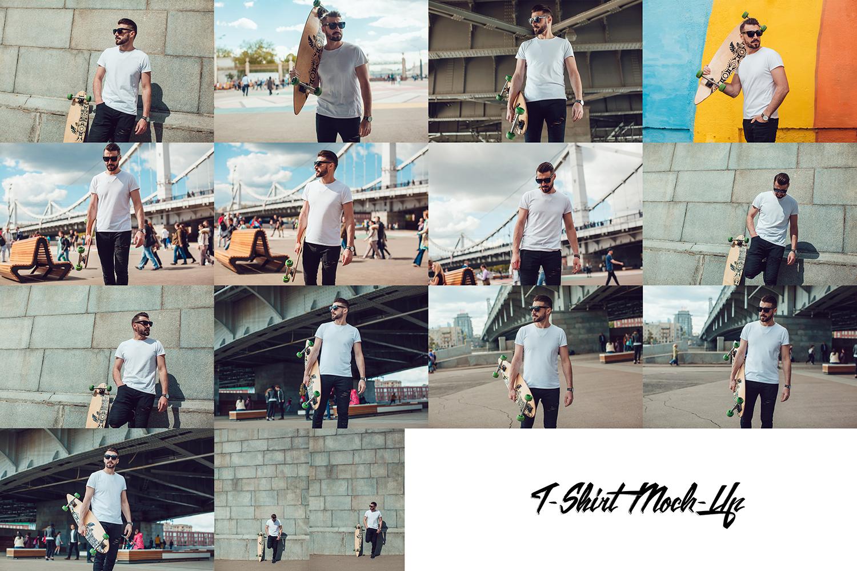 Men's T-Shirt Mock-Up Vol.3 2017 example image 17