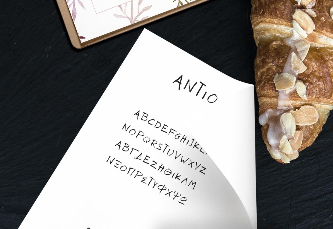 ANTIO! Prokopis | Font Duo example image 3